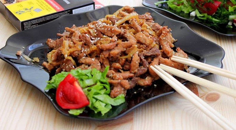 Мясо японское
