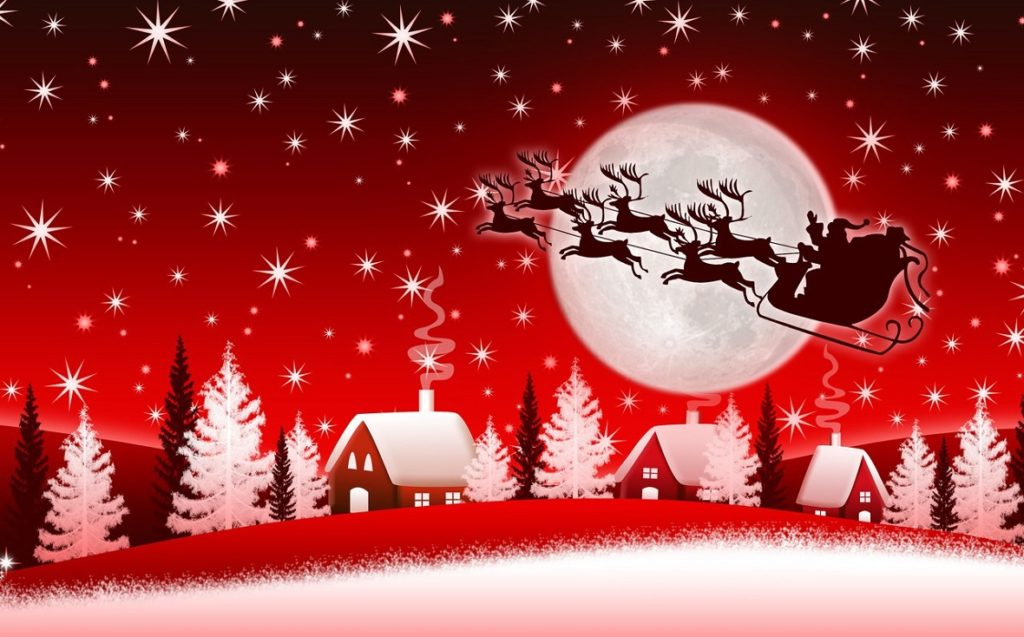 Ночью на рождество