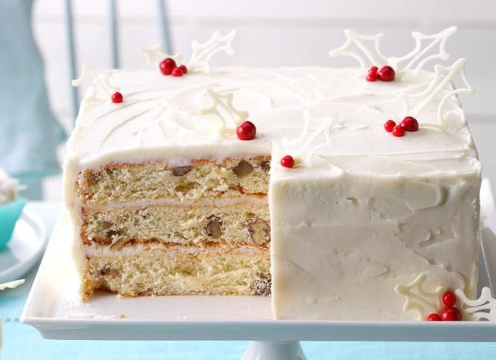 Торт к Рождеству