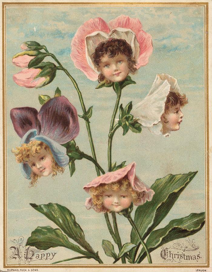 Дети цветы